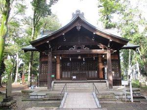 2020年10月20日 朝の富士森公園の浅間神社です