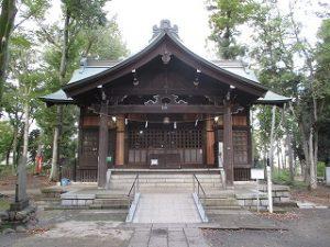 2020年10月24日 朝の富士森公園の浅間神社です