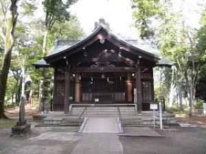 2020年10月26日 朝の富士森公園の浅間神社です