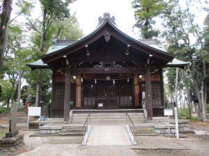 2020年10月30日 朝の富士森公園の浅間神社です