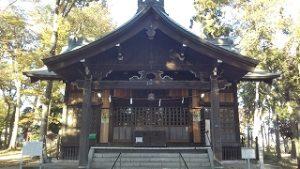 2020年11月10日 朝の富士森公園の浅間神社です