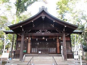 2020年11月1日 朝の富士森公園の浅間神社です