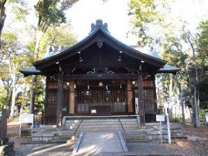 2020年11月9日 朝の富士森公園の浅間神社です
