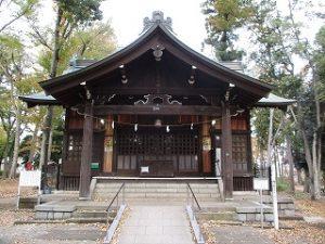 2020年11月12日 朝の富士森公園の浅間神社です