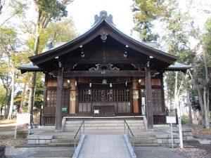 2020年11月13日 朝の富士森公園の浅間神社です