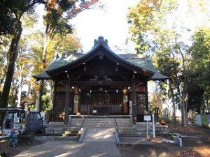 2020年11月14日 朝の富士森公園の浅間神社です
