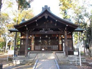 2020年11月15日 朝の富士森公園の浅間神社です