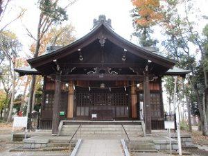 2020年11月20日 朝の富士森公園の浅間神社です