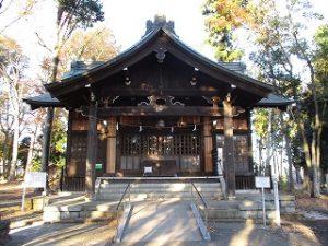 2020年11月21日 朝の富士森公園の浅間神社です