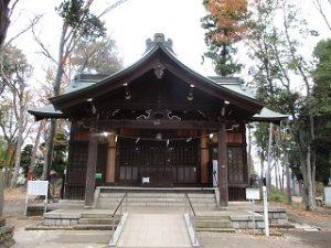 2020年11月24日 朝の富士森公園の浅間神社です