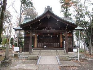 2020年11月27日 朝の富士森公園の浅間神社です