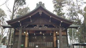2020年12月12日 朝の富士森公園の浅間神社です