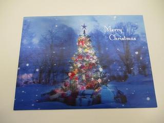 このクリスマスカード。。。