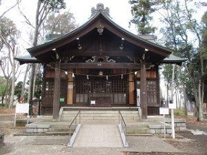 2020年12月14日 朝の富士森公園の浅間神社です