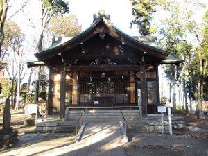 2020年12月18日 朝の富士森公園の浅間神社です