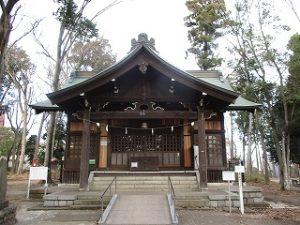 2020年12月19日 朝の富士森公園の浅間神社です