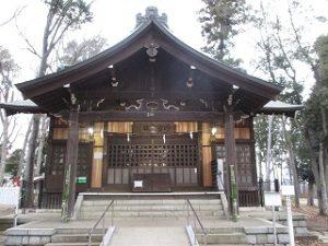 2020年12月28日 朝の富士森公園の浅間神社です