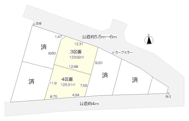 現地区画図はコチラ