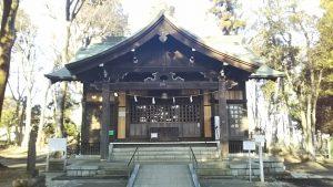 2021年2月21日 朝の浅間神社です