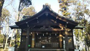 2021年2月22日 朝の浅間神社です