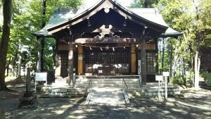 2021年4月30日 朝の富士森公園の浅間神社です