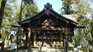 2021年4月11日 朝の富士森公園の浅間神社です