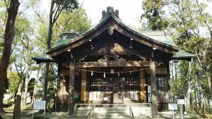 2021年4月4日 富士森公園の浅間神社です