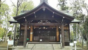 2021年4月6日 富士森公園の浅間神社です