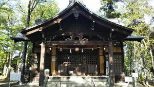 2021年4月18日 朝の富士森公園の浅間神社です
