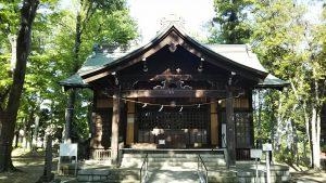 2021年4月23日 朝の富士森公園の浅間神社です