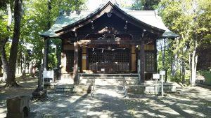 2021年4月26日 朝の富士森公園の浅間神社です