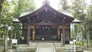 2021年5月29日 朝の富士森公園の浅間神社です