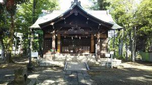 2021年5月8日 朝の富士森公園の浅間神社です
