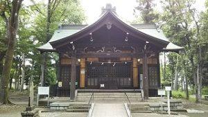 2021年5月30日 朝の富士森公園の浅間神社です