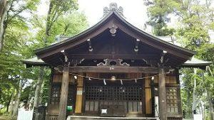 2021年5月9日 朝の富士森公園の浅間神社です