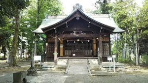 2021年5月10日 朝の富士森公園の浅間神社です