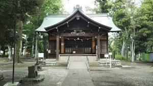2021年5月31日 朝の富士森公園の浅間神社です