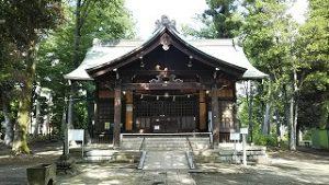 2021年6月1日 朝の富士森公園の浅間神社です