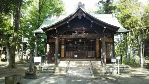 2021年5月4日 朝の富士森公園の浅間神社です