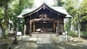 2021年5月14日 朝の富士森公園の浅間神社です