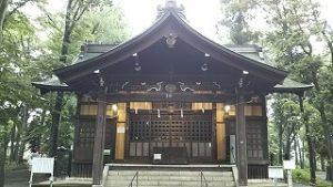 2021年5月21日 朝の富士森公園の浅間神社です