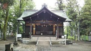 2021年5月22日 朝の富士森公園の浅間神社です
