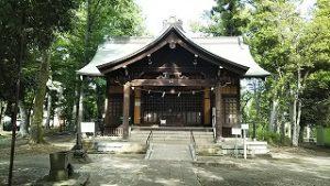 2021年5月25日 朝の富士森公園の浅間神社です
