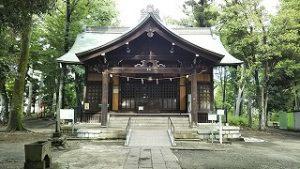2021年5月28日 朝の富士森公園の浅間神社です