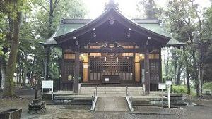 2021年6月14日 朝の富士森公園浅間神社です