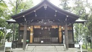 2021年6月6日 朝の富士森公園の浅間神社です