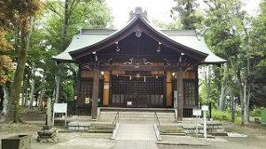 2021年6月7日 朝の富士森公園の浅間神社です