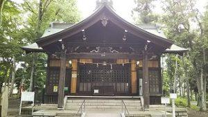 2021年6月5日 朝の浅間神社です