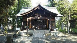 2021年6月8日 朝の富士森公園の浅間神社です