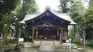 2021年6月21日 朝の富士森公園の浅間神社です